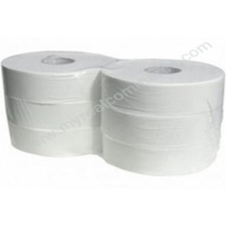 Бумага туалетная Maxi Jumbo, 2 слоя, 250м, 833 отрыва, (PP-JP4M250/<wbr>P) - Officedom (1)