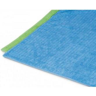 Тряпка для мытья пола микроволокно зеленый 60х70 (FE30181) - Officedom (1)