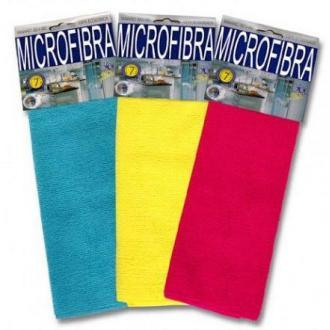 Салфетка из микрофибрового волокна Pamex VOLUME 30x40cm, ассорти (FO30420) - Officedom (1)