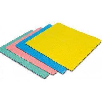 "Тряпка впитывающая ""Sponge"" 25 x 31 желтая (FE30482) - Officedom (1)"