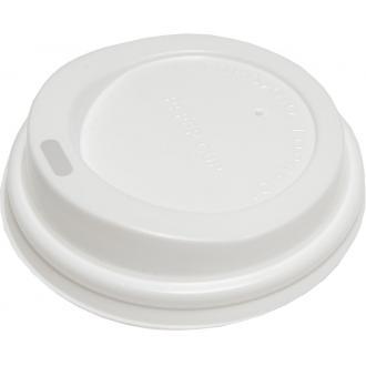 Крышка пластмассовая для однораз. стаканов, 8oz 100шт (FE60020) - Officedom (1)