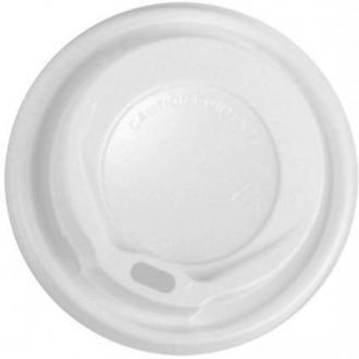 Крышка пластмассовая для однораз. стаканов, 12oz 100шт (FE60120) - Officedom (1)