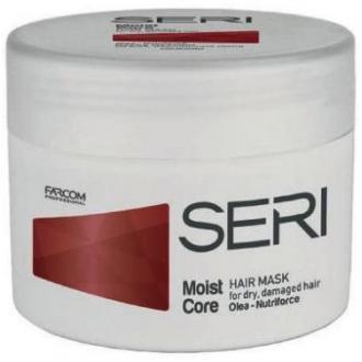 Маска SERI Moist Core увлажняющая для сухих волос, 300 мл. - Officedom (1)
