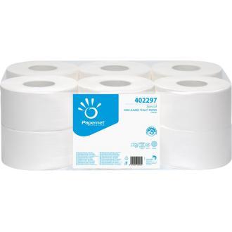 Бумага туалетная mini jumbo 2 слоя, 140 м - Officedom (1)