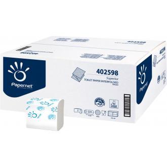 Бумага туалетная листовая, Z-укладка, 2 слоя, 224 л, 11х21 см. - Officedom (1)