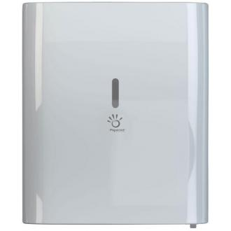 Держатель автоматический для полотенец в рулоне, 410х239х351, белый - Officedom (1)