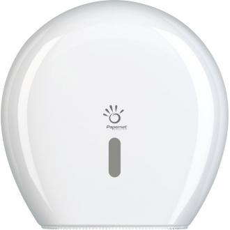 Держатель для туал. бумаги Mini Jumbo, 249х148х257, бел., maxᴓ 23см - Officedom (1)