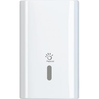 Держатель для листовой/<wbr>рулонной туалетной бумаги, 265х135х165, белый - Officedom (1)