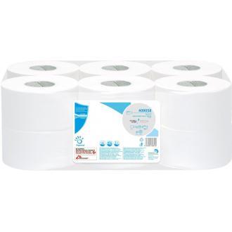 Бумага туалетная mini jumbo 1 сл, 300 м - Officedom (1)