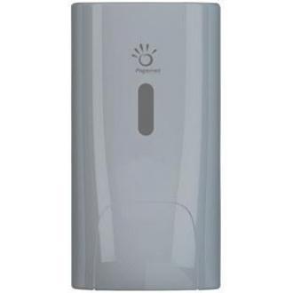 Диспенсер для жидкого мыла картриджный, 0,8 л., 220х116х139, серебро - Officedom (1)