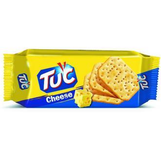 Крекер соленый TUC CHEESE со вкусом сыра, 100 гр - Officedom (1)