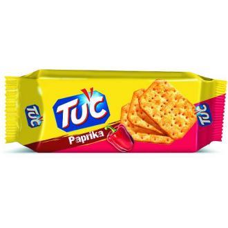 Крекер соленый TUC PAPRIKA со вкусом паприки, 100 гр - Officedom (1)
