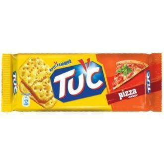 Крекер соленый TUC PIZZA со вкусом пицца, 100 гр - Officedom (1)