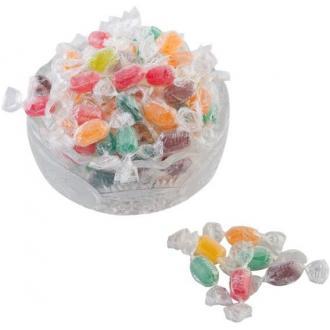 Кондитерские изделия Баян Сулу конфеты мини-карамель леденцовая BS Fruit, ассорти - Officedom (1)