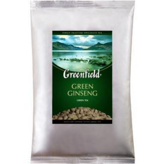 Чай зеленый Gf Green Ginseng, китайский с женьшенем, крупнолистовой, 250 гр - Officedom (1)
