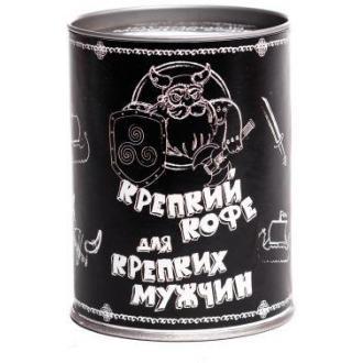 """Кофе подарочный """"Для крепких мужчин"""", 100 г - Officedom (1)"""