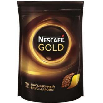 Кофе Nescafe Gold, 190 г, вакуум. упаковка - Officedom (1)