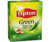 Чай зеленый Lipton, 100 х 2 г, в пакетиках | OfficeDom.kz