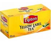 Чай черный Lipton, 25 х 2 г, в пакетиках | OfficeDom.kz