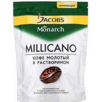 Кофе Jacobs Monarch Millicano, 70 гр, вакуумная упаковка - Officedom (1)