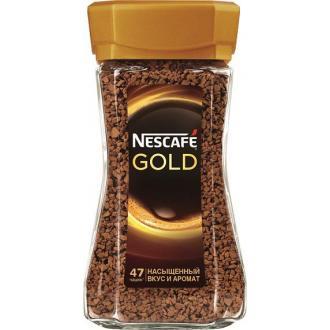 Кофе Nescafe Gold, 95 г, стеклянная банка - Officedom (1)