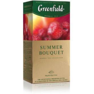 Чай травяной Gf Summer Bouquet, с ароматом малины, 25х2г - Officedom (1)