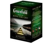 Чай черный Gf Royal Earl Grey с цедрой цитрусовых и ароматом бергамота, 20х2г, пирамидки