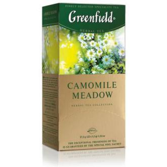 Чай травяной Gf Camomile Meadow, на основе ромашки, шиповника и ароматом личи, 25х1,5г - Officedom (1)