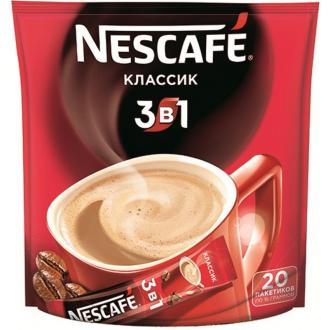 Кофе Nescafe Classic, 3 в 1, растворимый, 20 шт/<wbr>уп - Officedom (1)