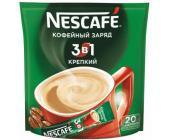 Кофе Nescafe Strong, 3 в 1, растворимый, 20 шт/уп