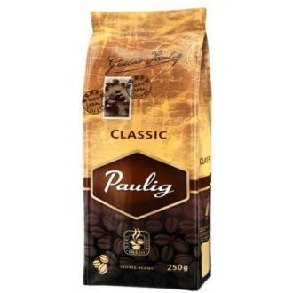 Кофе в зернах Paulig Классик в пакете, 250гр - Officedom (1)