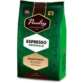 Кофе в зернах Paulig Эспрессо Оригинал в пакете, 1000гр - Officedom (1)