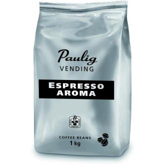 Кофе в зернах Paulig Эспрессо Арома в пакете, 1000гр - Officedom (1)