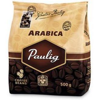 Кофе в зернах Paulig Арабика в пакете, 500гр - Officedom (1)