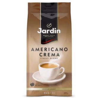 Кофе в зернах Jardin Americano Crema, 250 гр, вакуумная упаковка - Officedom (1)