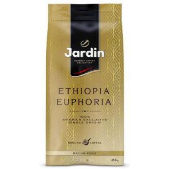 Кофе молотый Jardin Ethiopia Euphoria, 250 гр, вакуумная упаковка - Officedom (1)