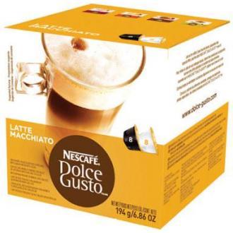 Кофе в капсулах Dolce Gusto Latte Macchiato, с молоком, 8 шт/<wbr>уп - Officedom (1)