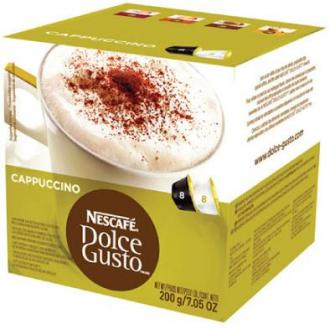 Кофе в капсулах Dolce Gusto Cappucchino, с молоком, 8 шт/<wbr>уп - Officedom (1)