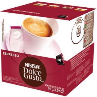 Кофе в капсулах Dolce Gusto Espresso, черный, 16 шт/<wbr>уп - Officedom (1)
