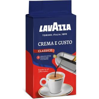 Кофе молотый Lavazza Crema e Gusto Classico, 250 гр - Officedom (1)