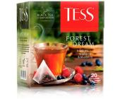 Чай черный Tess Forest Dream, 20 х 1,8 г, пирамидки | OfficeDom.kz