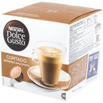Кофе в капсулах Dolce Gusto Cortado, с молоком, 8 шт/<wbr>уп - Officedom (1)