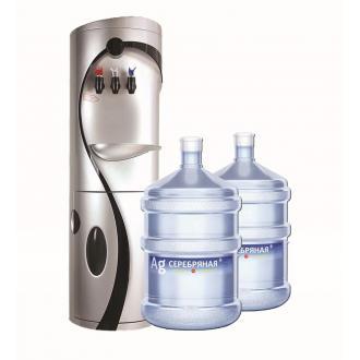 Вода питьевая Серебряная, 19л. - Officedom (1)