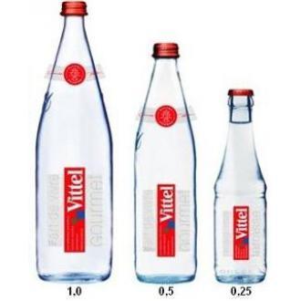 Минеральная вода Vittel без газа, 1л., стекло - Officedom (1)