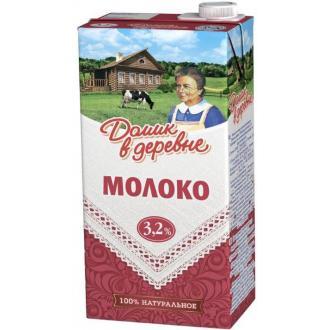 Молоко Домик в деревне, 3,2% жирности, 0,95 л - Officedom (1)