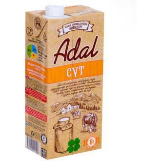 Молоко Adal 6% жирности, 0,95 л - Officedom (1)