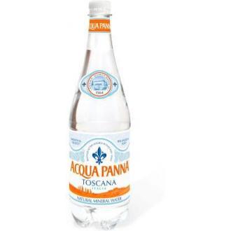 Минеральная вода Aсqua Panna 1,0л, пластик - Officedom (1)