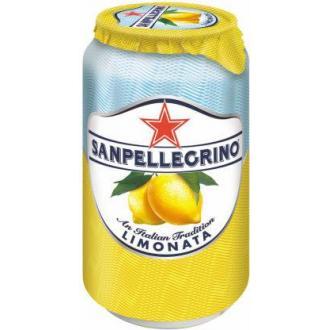 Напиток сокосодержащий San Pellegrino Limonata газированный, лимон, 0,33 л, ж/<wbr>б - Officedom (1)