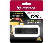 USB Флеш 128GB 3.0 Transcend TS128GJF780 черный | OfficeDom.kz