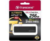 USB Флеш 256GB 3.0 Transcend TS256GJF780 черный | OfficeDom.kz